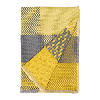 Loom Throw - 180x130cm - Yellow