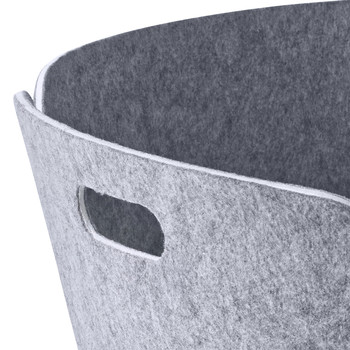 Restore Round Basket - Grey