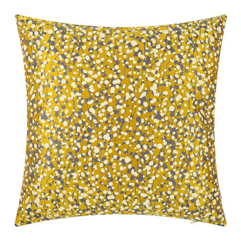 Garland Cushion - 45x45cm - Turmeric/Storm