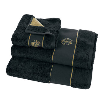 Gold Towel - Dark Blue