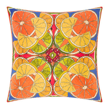 Juicy Eruption Cushion - 55x55cm