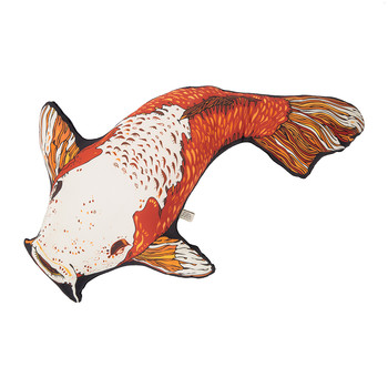 Koi Carpy Silk Shaped Cushion - 75x46cm