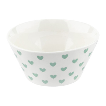 Low Hearts Bowl - Green