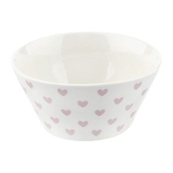 Low Hearts Bowl - Rose