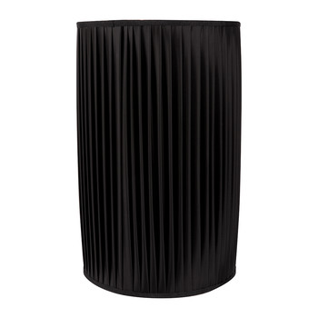Cylindrical Lamp Shade - Black