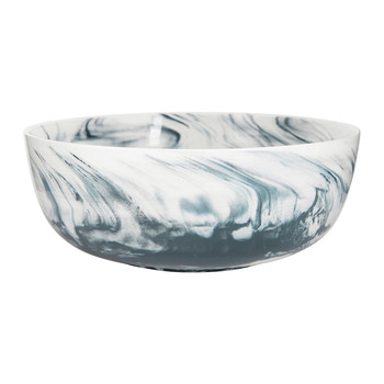 Marble Salad Bowl - Grey