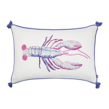 Lobby Lobster Pillow with Tassels