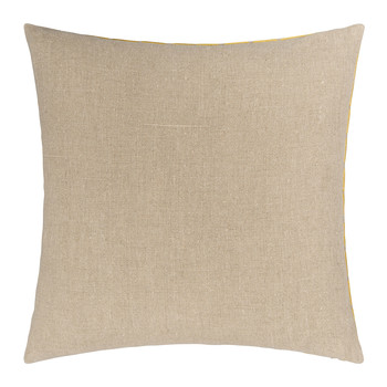 Geocentric Cushion - 50x50cm - Gold & Natural