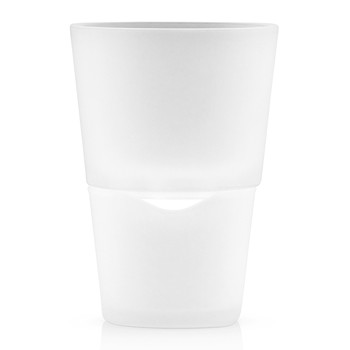 Herb Pot - 11cm - Frosted Glass