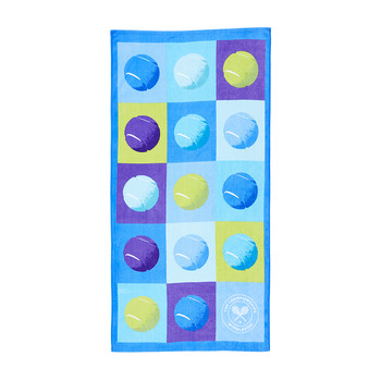Tennis Ball Pop Beach Towel
