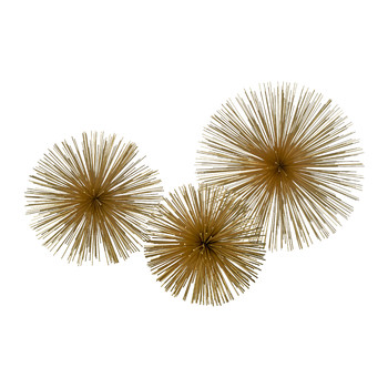 Prickle Decorative Ornament - Brass
