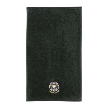 Embroidered Guest Towel - Green