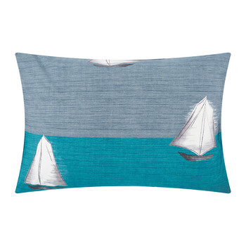 Sampan Pillowcase - Turquoise - 50x75cm