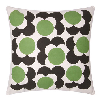 Bigspot Shadow Flower Cushion 59x59cm - Grass