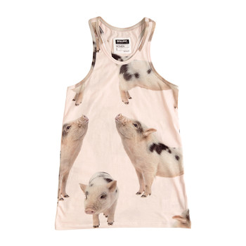 Women's Piggies Pyjama Top