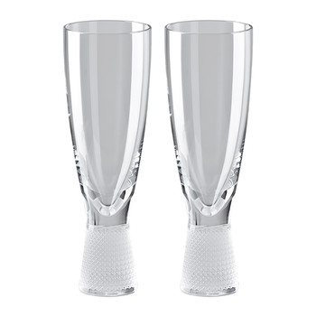 František Vizner Champagne Glass - Set of 2