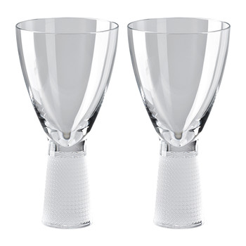 František Vizner Red Wine Glass - Set of 2