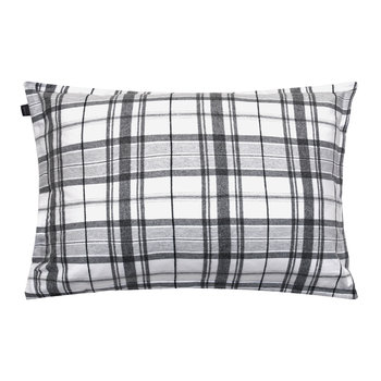 Hucker Check Pillowcase - Grey