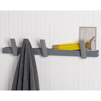 Beam Coat Rack - Light Grey - 90cm