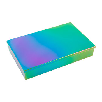 Luxe Box with Lid - Oil Slick