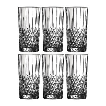 Earlswood Highball Glasses - Set of 6