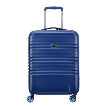 Caumartin 4 Wheel Slim Trolley Case - 55cm - Navy/Anthracite