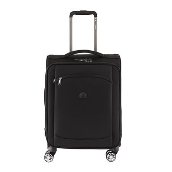Montmartre Air 4 Wheel Slim Expandable Trolley Case - 55cm - Black