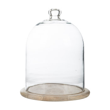 Recycled Glass Bell Dome