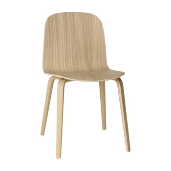 Visu Chair - Wood Base - Oak