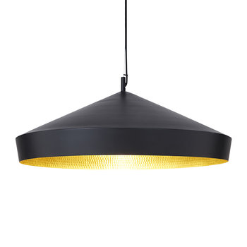Beat Flat Pendant Light - Black