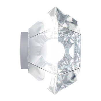 Cut Wall/Ceiling Light - Chrome