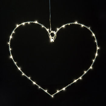 Small Liva Heart Light - White