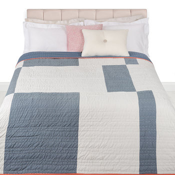 Mondrian Bed Cover - Thunder