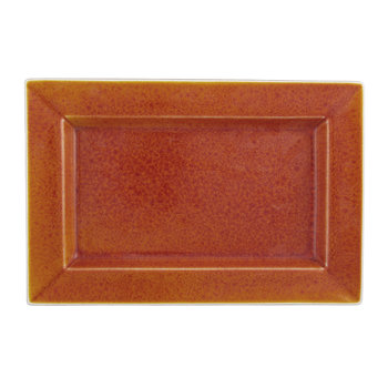 Tourron Rectangular Dish - Orange