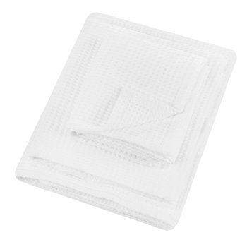 Waffle 240gsm Towel - White
