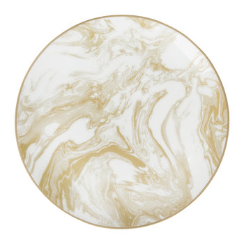 Gunnison Porcelain Side Plate - Gold