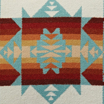 Chief Joseph Cushion - Aqua
