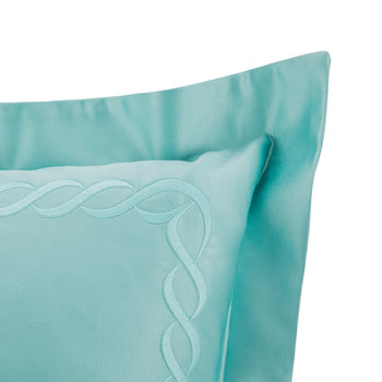 Chain Embroidery Pillowcase - Set of 2