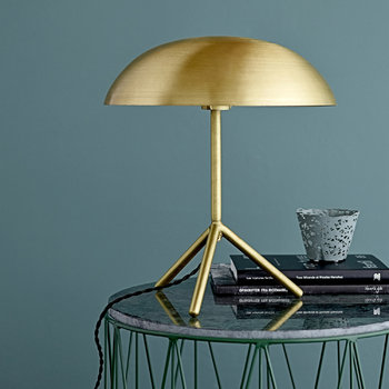 Tripod Table Lamp - Brushed Gold