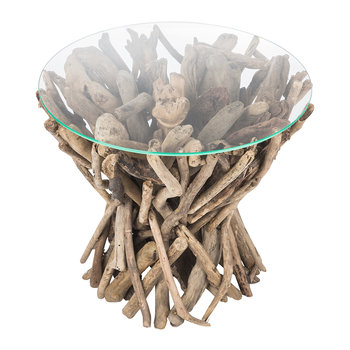 Inyo Driftwood Side Table