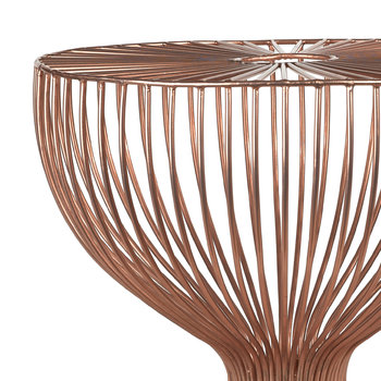 Wire Dumbbell Stool - Copper
