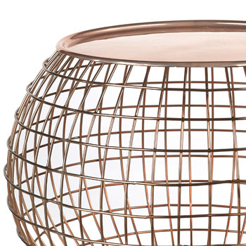 Wire Ball Table Tray - Copper