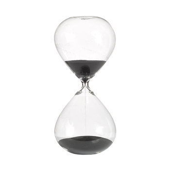 Hourglass Ball - 90 Minutes - Black - Medium