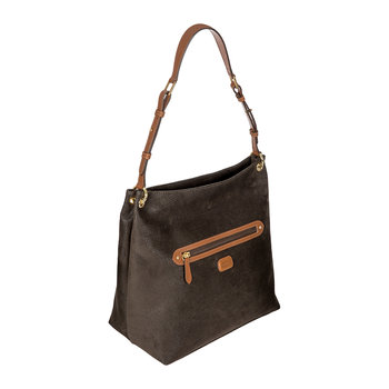 Life Handbag with Zip Front Pocket - Small - Olive
