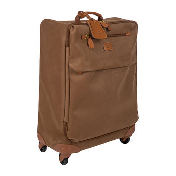 Life Lightweight Trolley Suitcase - Camel - 55cm
