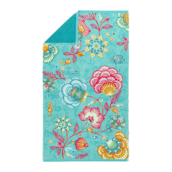 Shellebration Beach Towel - Aqua