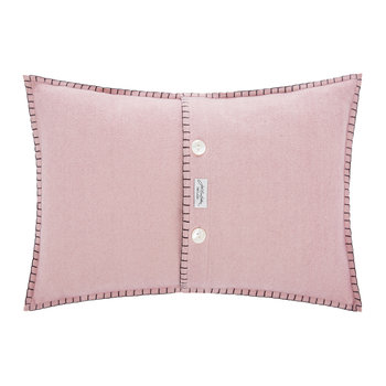 Glam Rock Sequin Cushion - Love - Pink