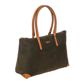 Life Handbag with Long Handles - Olive