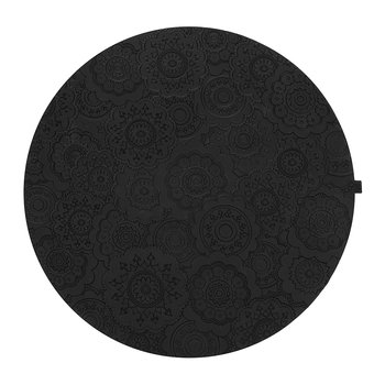 Round Urban 03 Placemat - Carbon