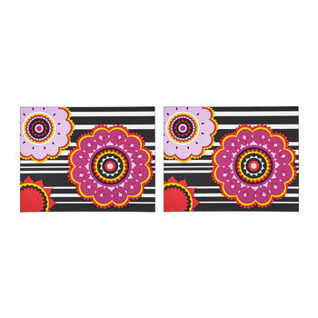 Set of 2 Rectangular Placemats - Henne